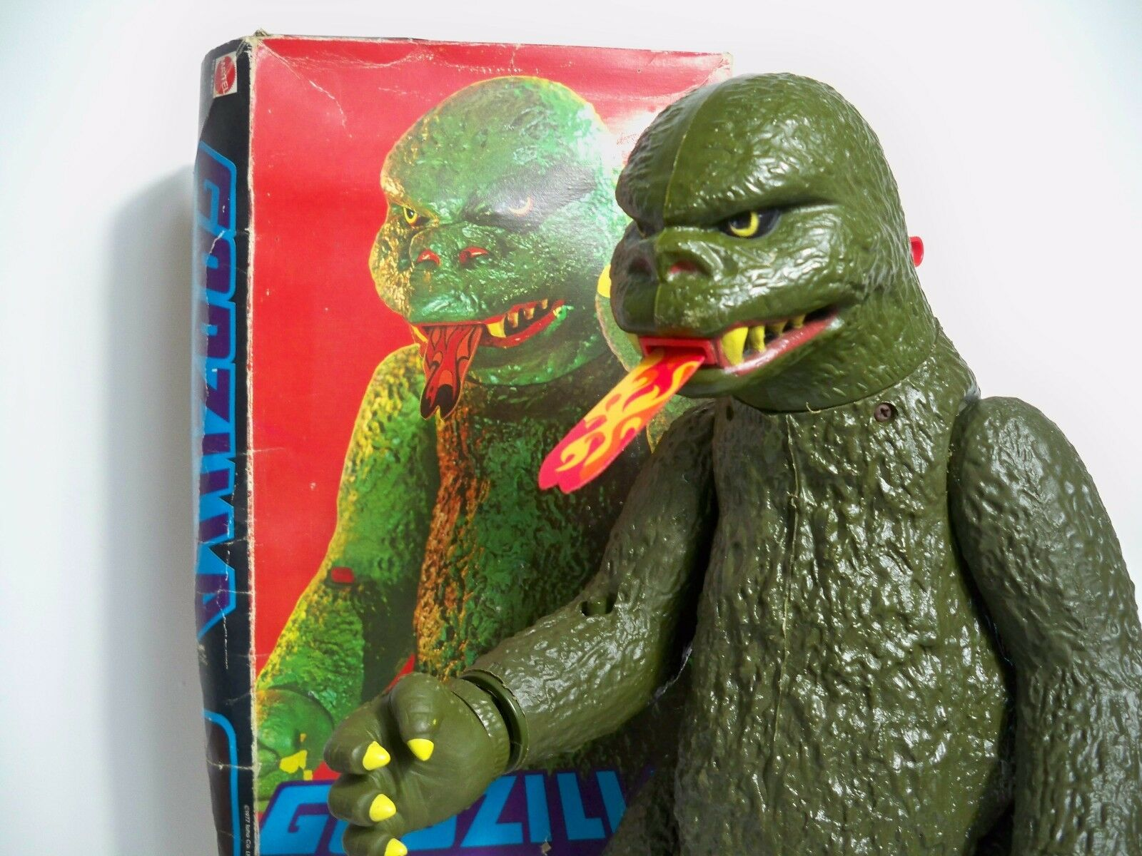 D1049714 D1049714 D1049714 GODZILLA TOHO 1977 MATTEL SHOGUN WARRIORS NOTHING BROKEN COMPLETE BOX 1af906