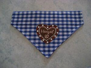 Halstuch-Wechseltuch-Tracht-Halsband-Dreieckstuch-Hundehalstuch-Hundekleidung