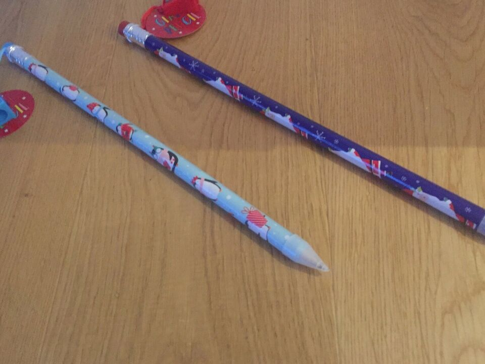 Tegne/male, 2 gigantblyanter med blyantspidser, Tallon