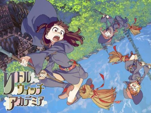 "Little Witch Academia Anime Poster 13x20 20x30/"" 24x36/"" Art Silk Print"