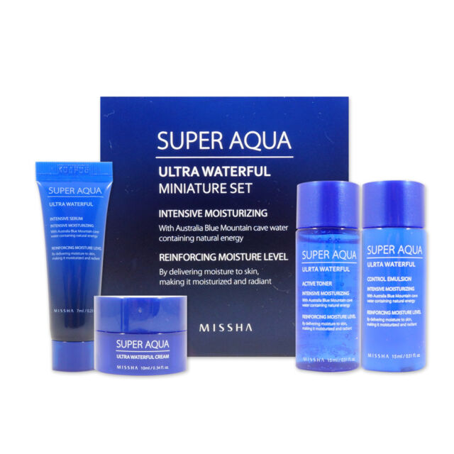 [Sample] [Missha] Super Aqua Ultra Waterful Miniature Set (4 Items)