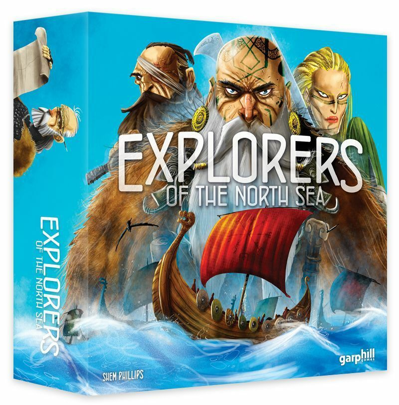 Explorers of the North Sea - English, shrinkwrapped