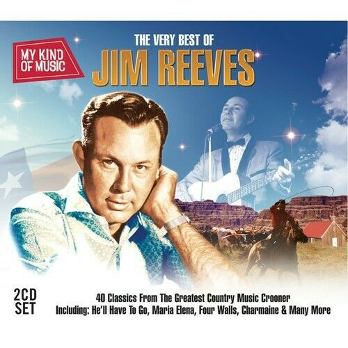 Jim Reeves The Very Best of 2 CD NEW