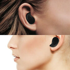 Black Ultra-small Bluetooth Invisible Headset Wireless Hands-free Car Headphone