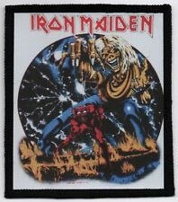 IRON MAIDEN PATCH / SPEED-THRASH-BLACK-DEATH METAL