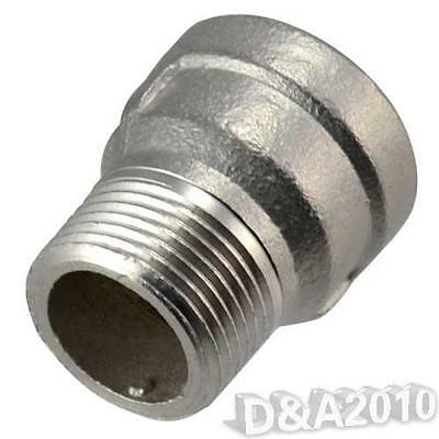 "1/2"" Female x 1/2"" Male Nipple Bush Adapter Bushing Pipe Fittings BSP SS304"