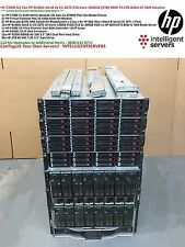HP C7000 8Gbit 79.2TB SAN Solution 16x HP BL460c Gen8 E5-2670 2048GB RAM