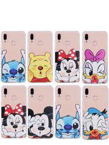 For-Huawei-Mate-P20-Por-Lite-Cartoon-Disney-Case-Soft-Silicone-TPU-Phone-Cover