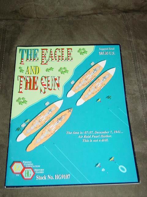Fresno Gaming-L' aigle et le soleil Game-Guerre du Pacifique (non perforé) +2 BONUS