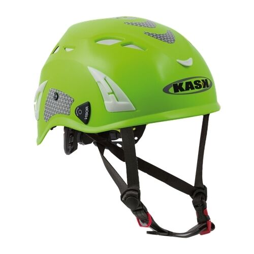 KASK Climbing Helmet - (Hi-Viz Green) H080417-09
