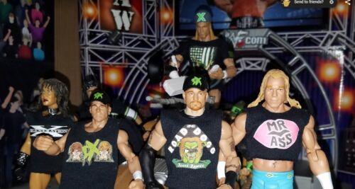 WWE Mattel Elite Hall of Champions Road Dogg Billy Gunn Custom Shirts Figure