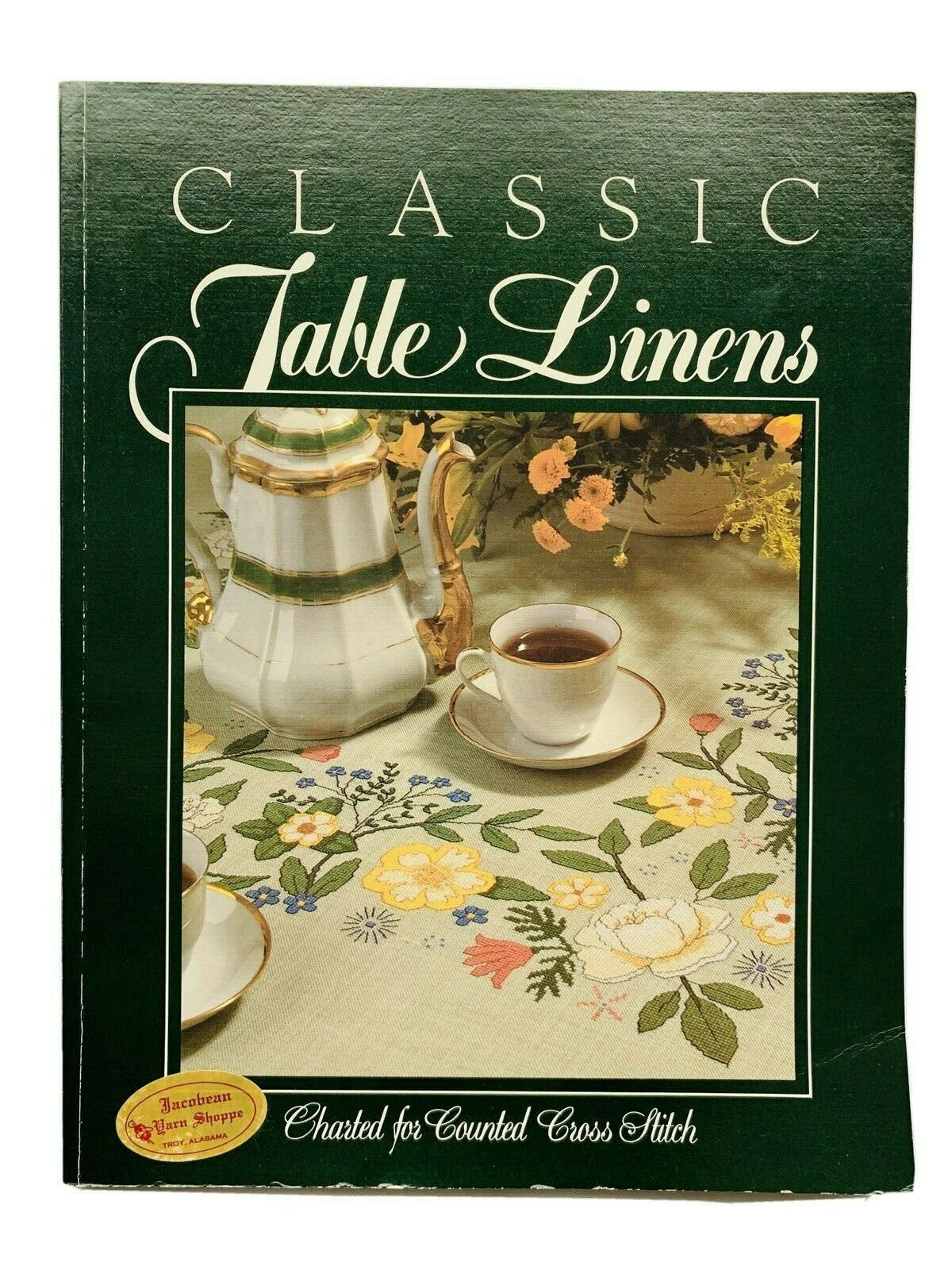 Classic Table Linens Charted for Counted Cross Stitch
