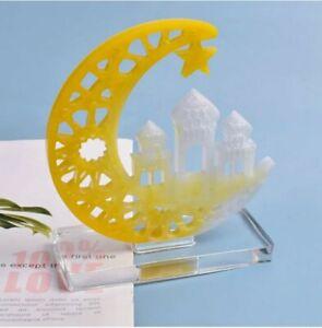 Eid-Moubarak-Ramadan-DECOR-resine-de-silicone-Casting-Mold-Jewelry-Epoxy-Moule-Craft