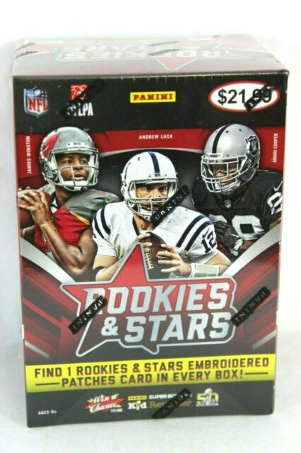 2015 Panini Rookies /& Stars Football Trading Card Blaster Box