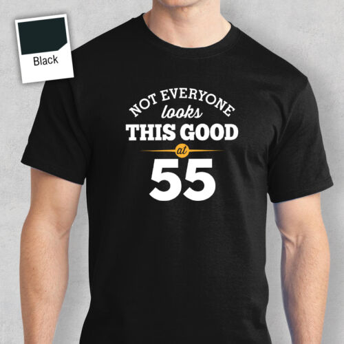 55th Birthday Gift Present Idea For Boys Dad Him Men T Shirt 55 Tee Shirt 1963
