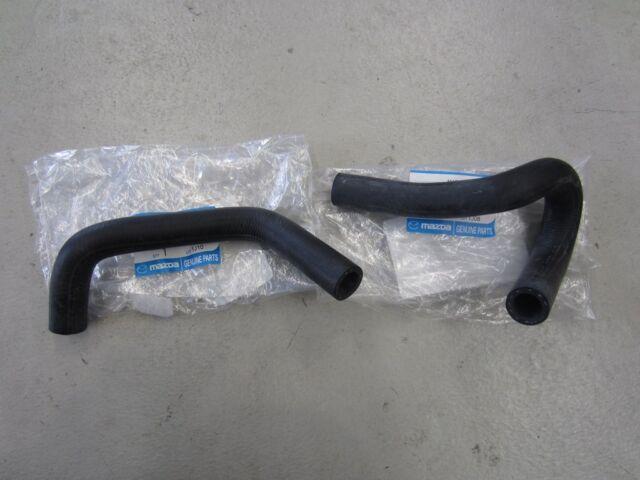 Mazda MX5 Miata NA 89 - 97 Heater Hose Kit 2 Pieces Genuine Mazda