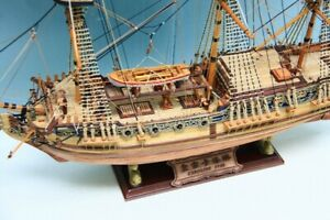 Details About Hms Royal Caroline 1749 Scale 1 50 33 Wooden Ship Model Kits Scale Model