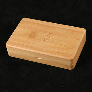 Details About Fly Fishing Box Wooden Bamboo Smooth Surface Tackle Box Storage 1439438 Mm