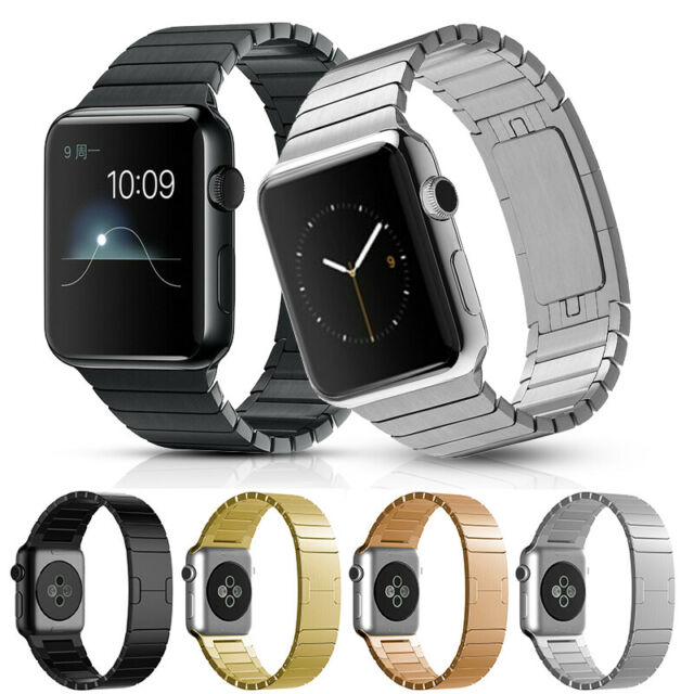 Watch Band For Apple Watch 38mm Stainless Steel Mesh Milanese Loop Space Gray For Sale Online Ebay
