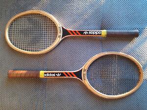 dolor de muelas Respeto a ti mismo Mimar  Vintage Adidas Ilie Nastase Tennis Racket set | eBay