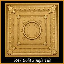 Ceiling Tiles Glue Up Styrofoam 20x20 R47 Gold lot of 100 pcs 270 sq ft