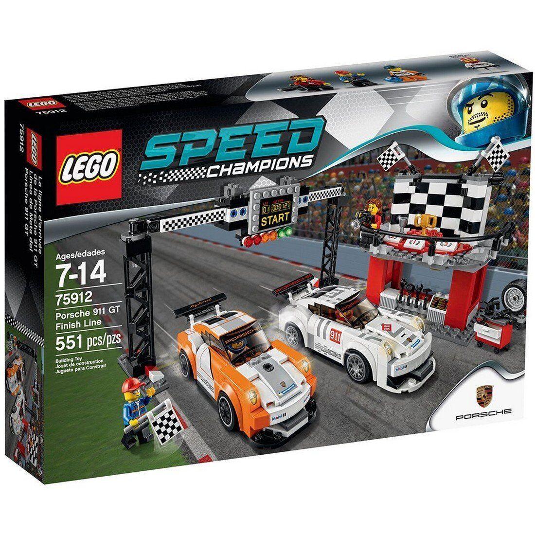NEW LEGO Speed Champions Porsche 911GT Finish Line 75912