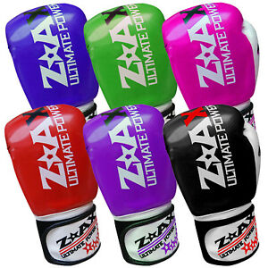 Bag or Pad work Sparring artificial leather 4oz to 16oz BOXING GLOVES