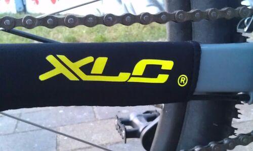 Bike Fahrrad XLC Chain Slapper Protection Kettenstrebenschutz Neon Gelb 1