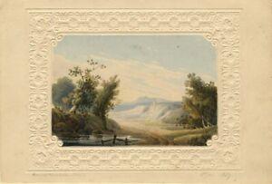 Thomas-Perrott-Hamilton-Picturesque-Landscape-1827-watercolour-painting