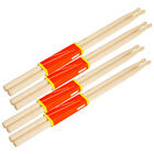 New 4Pairs Music Band Maple Wood Drum Sticks Drumsticks 5A