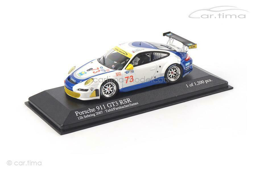 Porsche 911 (997)  gt3 rsr-Sebbague 2007-Farnbacher-Minichamps 1 43 - 400076  mode
