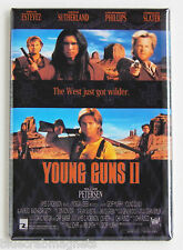 Young Guns 2 FRIDGE MAGNET (2 x 3 inches) movie poster emilio estevez