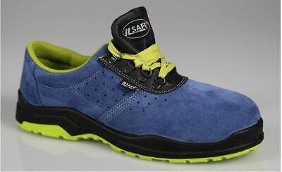 Safe scarpe antinfortunistica mod new estate plus n° 44 tipo basse antiforo blu | eBay