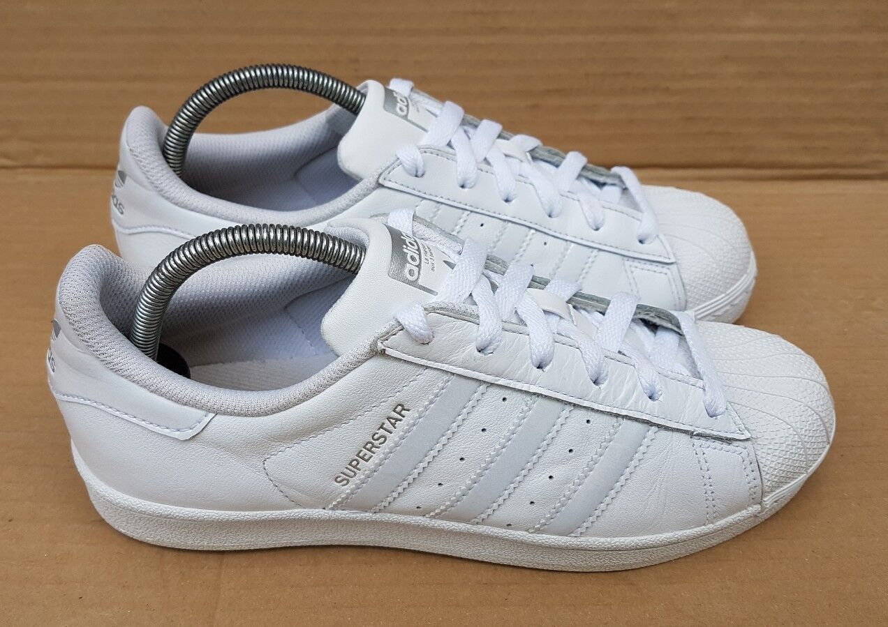 ADIDAS SUPERSTAR TRAINERS IN SIZE 5 UK Weiß RARE RARE RARE Weiß UK AND 6d2bf6