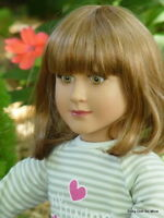 In Box My Twinn 23  Doll Amber Yellow Green Eyes Medium Red Hair