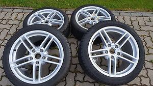 Porsche-911-991-C2-19-Zoll-Winterradsatz-Carrera-Winterreifen-Pirelli-N0