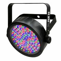 Chauvet Dj Slimpar 56 Led Dmx Slim Par Flat Can Rgb Wash Light Effect Fixture on sale