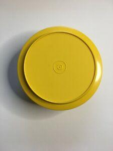 Vintage-Tupperware-1253-Yellow-Seal-n-Serve-Bowl-with-Lid-Seal-1207