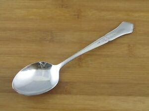"""Oneida Ashmore Solid Serving Spoon 8 1/2"""" Stainless Flatware Silverware"""