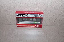 TDK Normal Position 90 Type I NEW SEALED Audio cassette