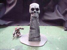 Skull monument wargame terrain 40K Warhammer KoW Malifaux D&D
