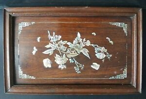 Ancien-plateau-vietnam-nnacre-palissandre-Old-tray-chinese-mother-of-pearl-XIX