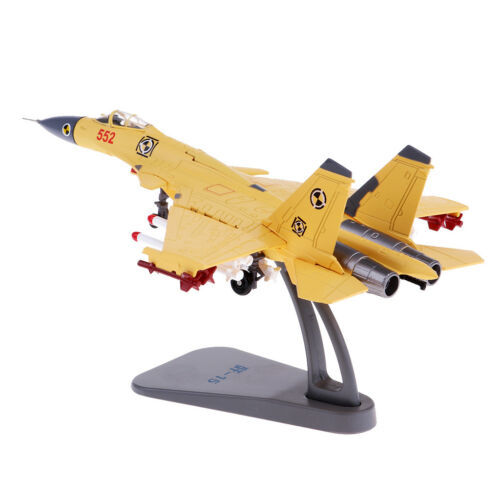 1:100 Scale Diecast Plane Carrier Aircraft Model Toy J-15 Metal Ornaments