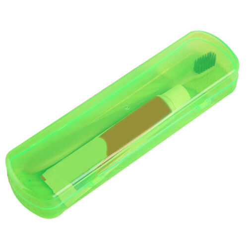 BG/_ Outdoor Travel Toothbrush and Tooth Paste Storage Container Box Holder Eager