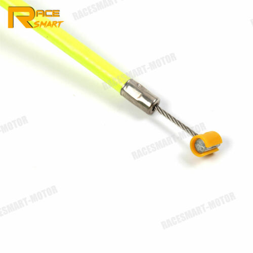 Fit Yamaha YZF R6 2006-2012 YZF-R6 Stainless Clutch Cable Wire Line Linkage