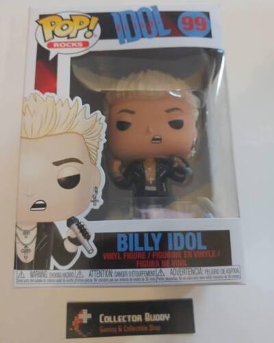 Funko Pop Music Rocks 99 Billy Idol Pop Vinyl Action Figure FU36445