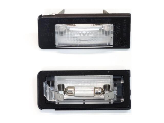 Original Audi TT 8N Kennzeichenleuchten Kennzeichenbeleuchtung links /& rechts