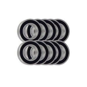 Roulement à billes Selection 1 mm 1.5 mm 2 mm 3 mm 3.5 mm 40 in environ 101.60 cm TOTAL en acier chromé