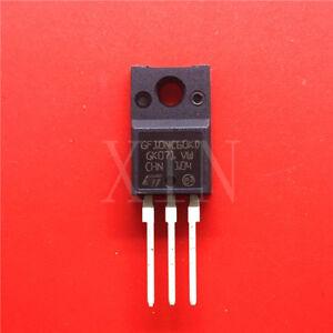 5-PCS-STGF10NC60KD-GF10NC60KD-N-channel-Short-circuit-rated-PowerMESH-IGBT-NEW