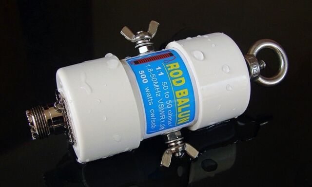 6m Bands 1.8-50MHz 500W Waterproof 1:1 Waterproof HF Balun for 160m